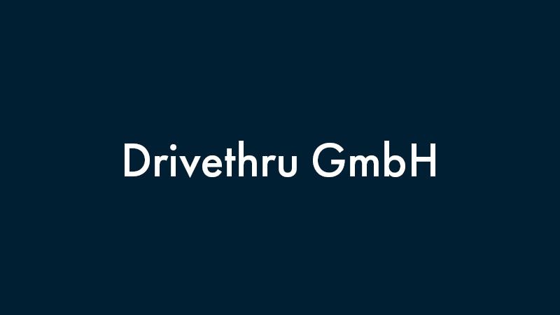 Drivethru GmbH