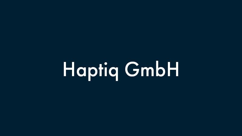 Haptiq GmbH