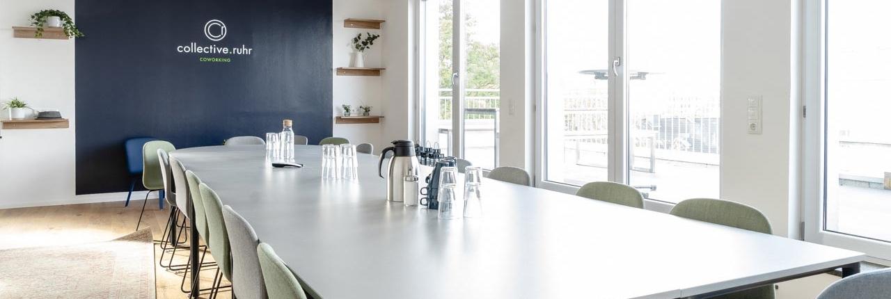 Platz für Meetings und Events im collective.ruhr
