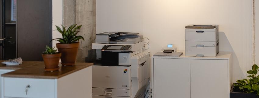 Gemeinsame Druckernutzung für mehr Nachhaltigkeit im Coworking